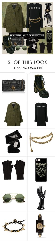 """Untitled #147"" by shewalksinsilence ❤ liked on Polyvore featuring Bottega Veneta, HADES, McQ by Alexander McQueen, Zoe Karssen, Gerbe, Chanel, rag & bone, Casetify, Ettika and Gucci"