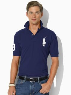 Classic-Fit Big Pony Polo - Polo Ralph Lauren Classic-Fit  - RalphLauren.com