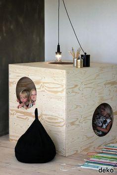 6x Plywood kinderkamers - DIY - MakeOver.nl