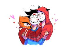 kristelthecapper: Eyy, happy valentines here have some bbs hugs