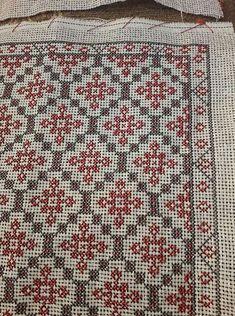 Cross Stitch Art, Cross Stitch Flowers, Cross Stitch Designs, Cross Stitching, Cross Stitch Embroidery, Cross Stitch Patterns, Hand Embroidery Design Patterns, Card Weaving, Crochet Carpet