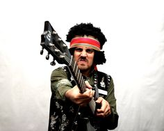 Jimi Hendrix Halloween Costume RiSER