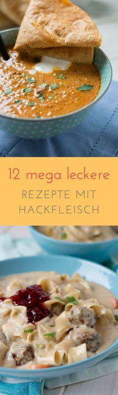 12 leckere Rezepte mit Hackfleisch