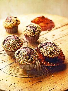 Chocolate And Hazelnut Muffins