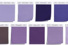 Purple - The Rainbow's Most Complex Color - A sampling of some of our newest purples