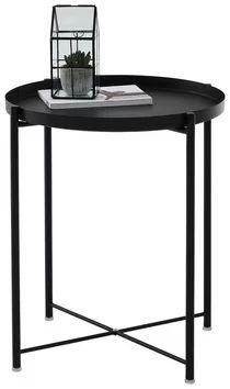 Beistelltisch (rund) in Schwarz online entdecken Table, Furniture, Home Decor, Black, Ideas, Homes, Decoration Home, Room Decor, Tables