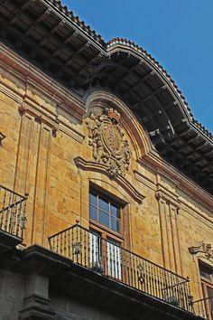 Palacio de los Marqueses de Camposagrado, Oviedo. Principado de Asturias. Spain. [By Valentin Enrique].