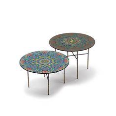 RAJA coffee tables #artyforniture #crazypattern #coffeetable #handmade