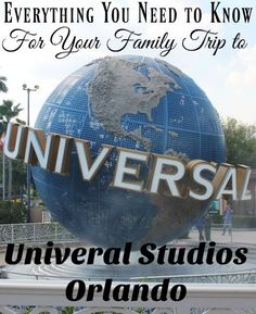 Are you taking a family trip to Universal Studios Theme Park? Here are the tips and tricks for the park you don't want to miss!