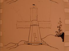 """Charley on the Windmill (1916); animated in 1915 by H.M. """"Jerry"""" Shields"""