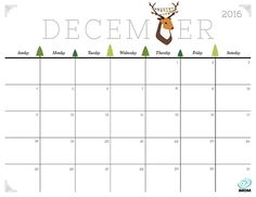 Download iMOM's Free December 2016 printable calendar. Remember to stay merry and bright this December!
