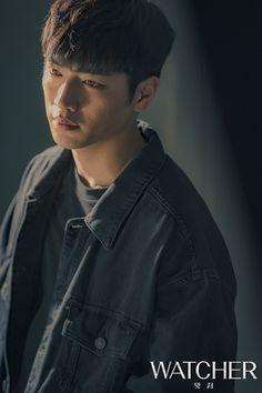 WATCHER(왓쳐)   현장 사진 Seo Kang Joon, Kang Jun, Actors Male, Korean Actors, Actors & Actresses, Most Handsome Men, Handsome Boys, Seung Hwan, Park Hyung