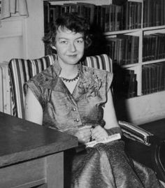 Flannery O'Connor. | 16 Wonderful Photos Of Women Writers AtWork