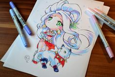 Snow Bunny Nidalee by Lighane on DeviantArt