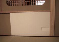 美しいふすまをつくります。:茶室の太鼓襖 茶道口・給仕口・洞庫