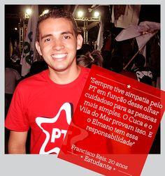 O Francisco Reis vota #Elmano13doPT