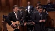 Russell Crowe Sings Again! Watch Him Spin Some Johnny Cash With A Little Help From Jimmy Fallon HERE!
