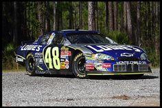 2006 Chevrolet Monte Carlo NASCAR Jimmy Johnson Road Race Car