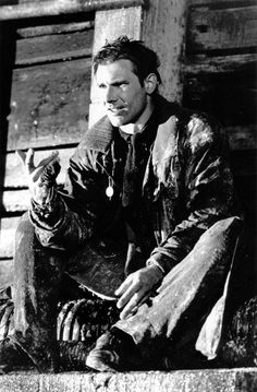 Harrison Ford on the set of Blade Runner (1982)