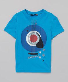 Love this Ben Sherman Dark Blue Guitar Target Tee - Infant, Toddler & Boys by Ben Sherman on #zulily! #zulilyfinds