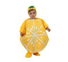 Disfraz de Limón para bebé de 6 a 12 meses. Incluye gorro 1671bfbe003
