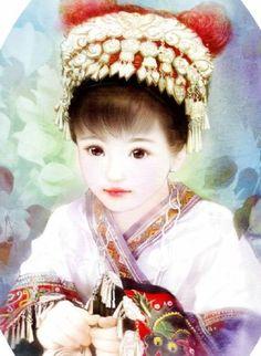 Traditional dress of chinese ethnic minorities