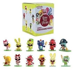 Happy Tree Friends Figures Toys Games Mini Figure World Blind Box Series 1 | Toys & Hobbies, Action Figures, TV, Movie & Video Games | eBay!
