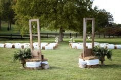 Doors at Outdoor Ceremony