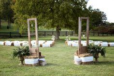 Doors at Outdoor Ceremony