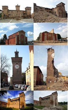 Earthquake in Emilia Romagna's