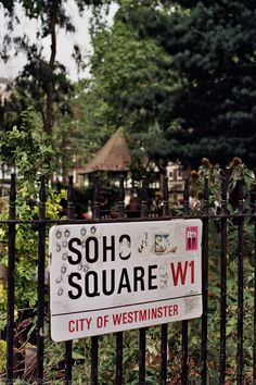 London,Soho Square