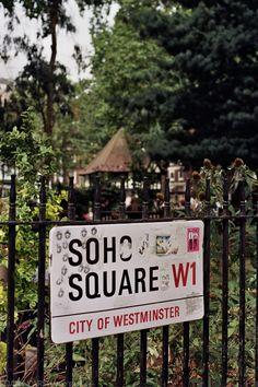 London,Soho Square