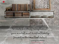 The beauty of the smallest details! #CeracasaSpirit #InspiringQuotes #design