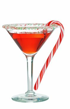 Peppermint Martinis around the holidays may not be a requirement, but they should be!