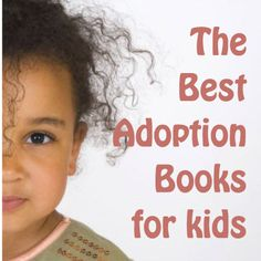 Suggested books for adopted children.  I'll have to check this out.