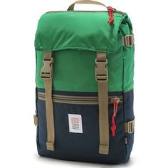 Topo Designs Rover Backpack - Navy/Kelly