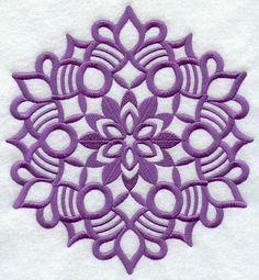 A Wycinanki snowflake machine embroidery design. Polish Embroidery, Snowflake Embroidery, Quilling Animals, Sewing Crafts, Diy Crafts, Polish Folk Art, Sewing Machine Embroidery, Applique Monogram, Snowflake Designs