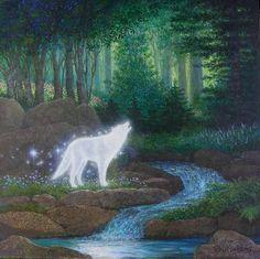 Fair as the moon and joyful as the light~wolf Spirit