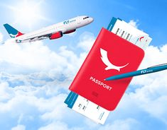 FLY Airlines brand concept http://be.net/gallery/61042687/FLY-Airlines-brand-concept