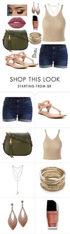 Patrizzia22.06.2017b by patrizzia on Polyvore featuring moda, Vila Milano, Steve Madden, Marc Jacobs, Sole Society, Lime Crime, Wet n Wild and patrizziapolyvore