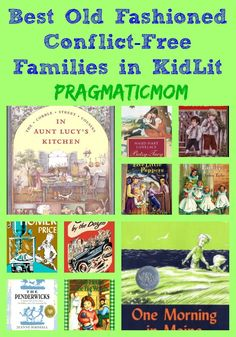 best conflict free families in children's books chapter books for kids