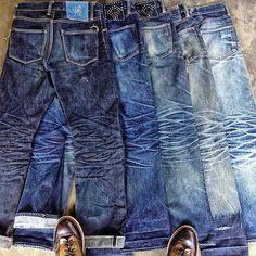 "Reposting @longjohn_denimblog: ... ""Worn-Out Projects with @nobrandedon_ina. #nobrandedon #jeans #denim #denimbrand #jeansbrand #wornout #worn #blue #denimpeople #denimheads #denimlife #denimgoods #denimbrand #denimcollection #drydenim #dryjeans #rigid #unwashed #denimblue #indigo #blue #wornoutprojects"""