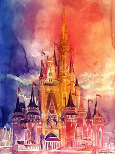Charming Watercolor Paintings Of Famous Landmarks And Locations - DesignTaxi