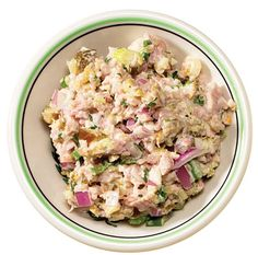Southern Ham Salad - Perfect for Easter Holiday prepare ahead or leftovers! via @saveurmag #hgeats