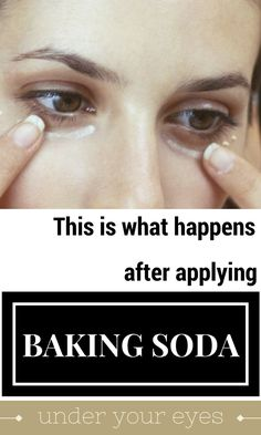 This Is What Happens After Applying Baking Soda Under Your Eyes . , This Is What Happens After Applying Baking Soda Under Your Eyes , Baking Soda Face Scrub, Baking Soda Shampoo, Varicose Vein Remedy, Varicose Veins, Home Beauty Tips, Beauty Hacks, Beauty Secrets, Baking Soda Under Eyes, Lemon Body Scrubs