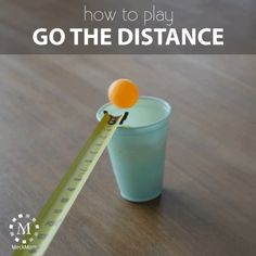 How to play the game Go the Distance How to play the game Go the Distance,Party Activities This is a fun party game pulled from a minute to win it challenge. It's fast and.