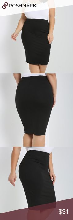 10aff2a0a5e 37 Best Black Midi Skirt - how to style images