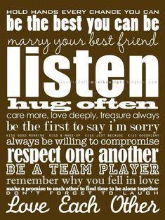 relationship & life advice