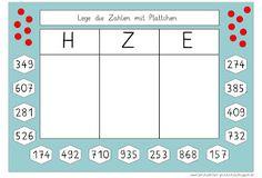 Lernstübchen: Zahlen in der Stellentafel legen