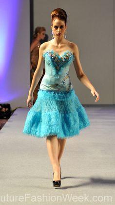 Carlos Vigil Couture Fashion Week New York 2013 #FashionWeek #Fashion
